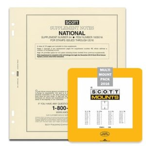 2016 Scott U.S. National Supplement + Scott Mount Set (Black)
