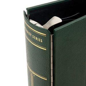 Large Green 3-Ring Slip Case