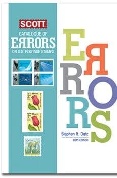 Scott Catalog of Errors on U.S. Postage Stamps