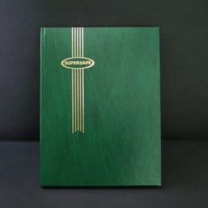 Green Supersafe Stockbook1