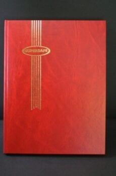 Red Supersafe Stockbook