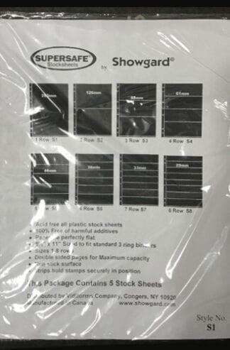 Supersafe Stock Sheet S1