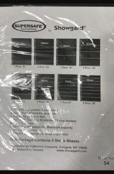 Supersafe Stock Sheet S4