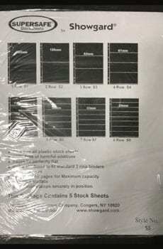 Supersafe Stock Sheet S5