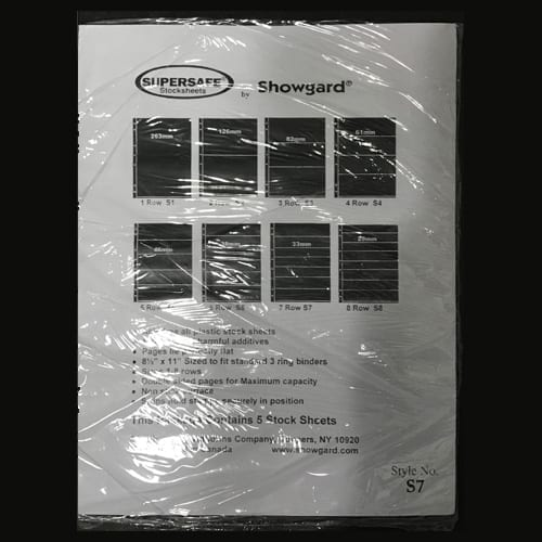 Supersafe Stock Sheet S7