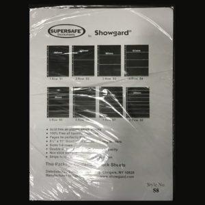 Supersafe Stock Sheet S8