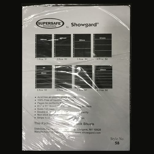 Supersafe Stock Sheet S8
