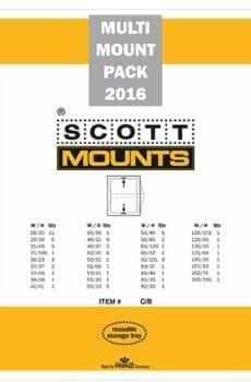 2016 U.S. Supplement Stamp Mount Set (81 Mounts)