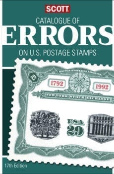 SCOTT CATALOG OF ERROR 17TH EDITION